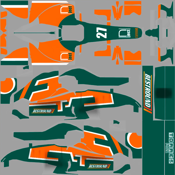 F1 carrocería