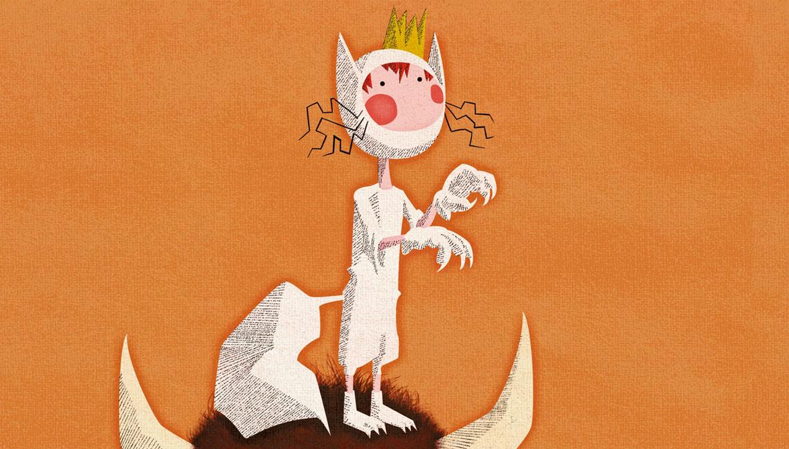 Max ilustración personaje