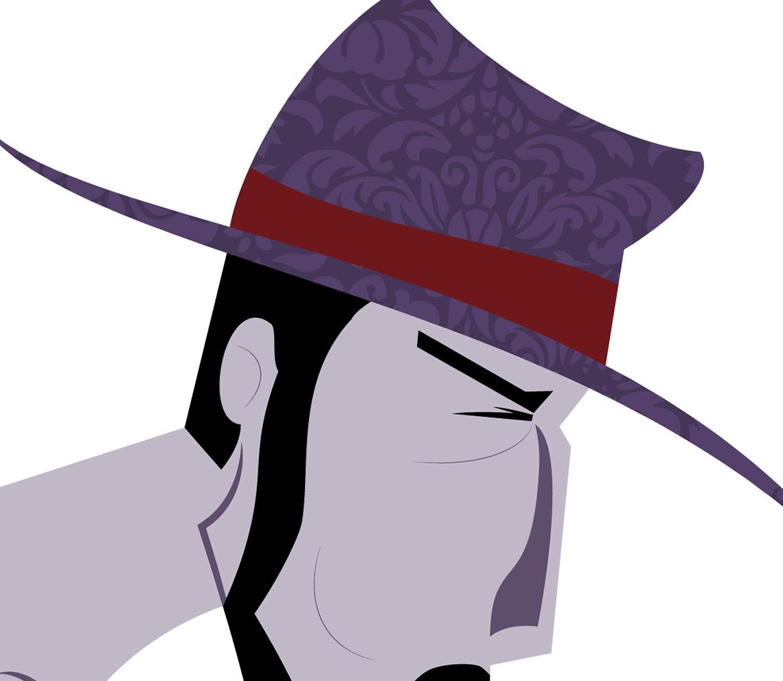Sombrero vectorial oeste