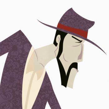 Vaquero ilustración cara