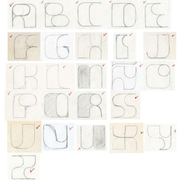 Pisculabis Font Dibujo