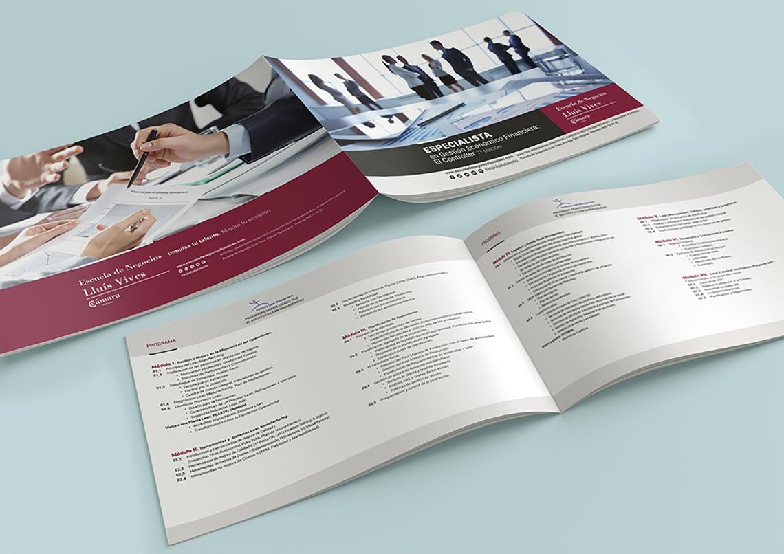 Oferta formativa folletos