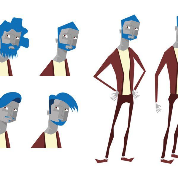 pruebas estilo personaje chico